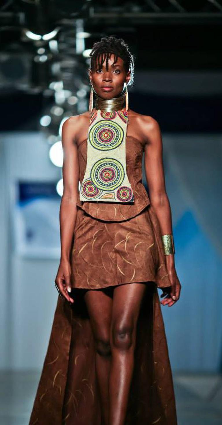 Design by Sally Karago of Mcensal Fashion House | Courtesy of Mcensal Fashion House