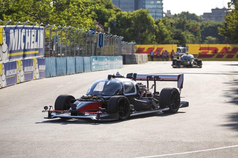 Devbots race in Buenos Aires. | Courtest Roborace.