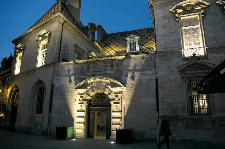 Hôtel de Vogüé in Dijon ©OT Dijon/Atelier Demoulin