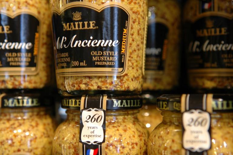 Old style mustard ©Côte-d'Or Tourisme/F. Bonnard