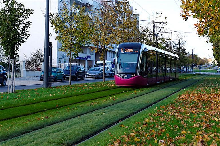 The tram in Dijon ©Françoise de Dijon/WikiCommons