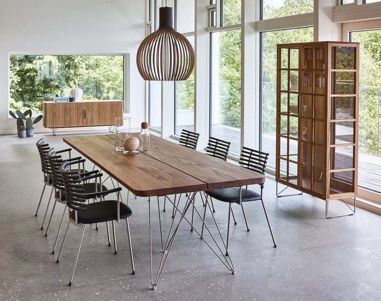 Danish Modern Dining Table, from £3,121 © Wharfside