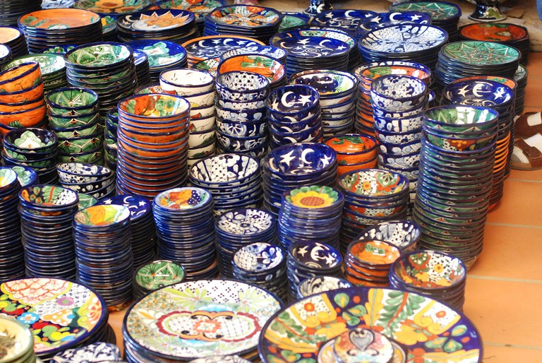 Crockery is a practical way to add Mexican touches to your home | © Cameron Nordholm/WikiCommons