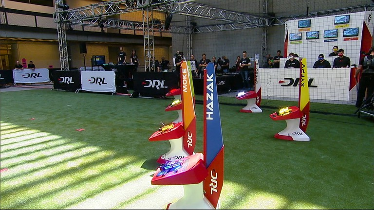 The Drone Racing League pits the world's best pilots against each other | © Drone Racing League