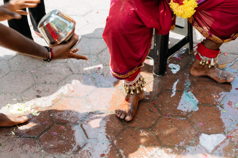 One of the many rituals you'll see during Thaipusam| Irene Navarro / © Culture Trip