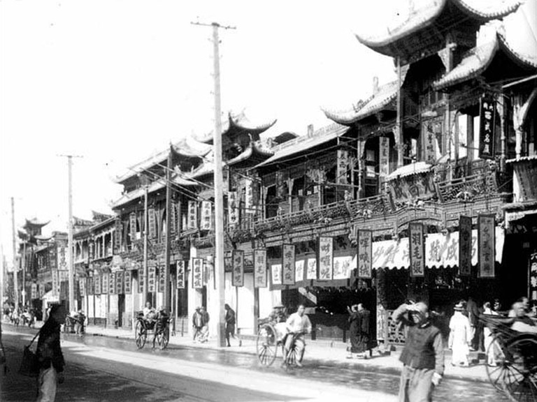 East Nanjing Road Then | Courtesy of the Shanghai Government