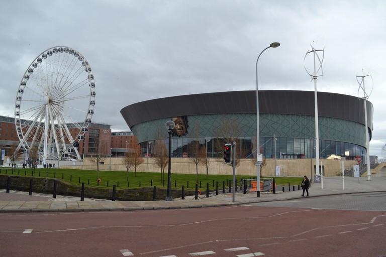 Echo Arena & Wheel of Liverpool