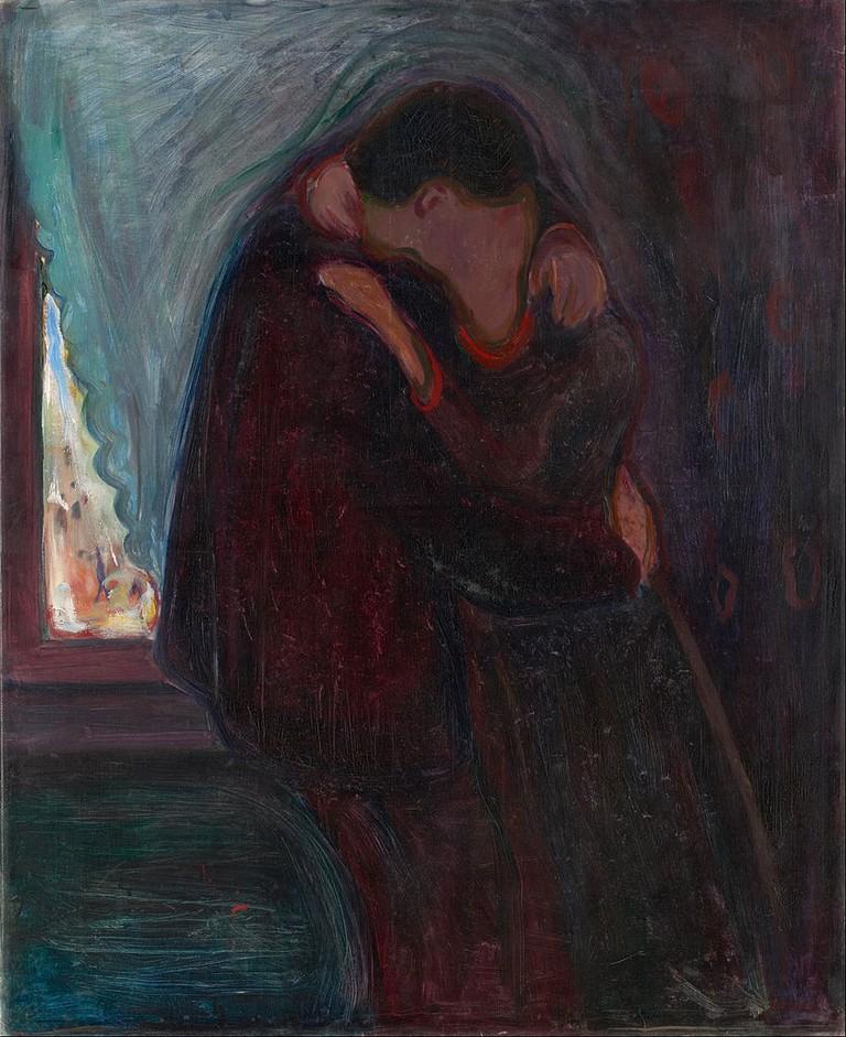 Edvard Munch, The Kiss, 1897 | © Google Art Project