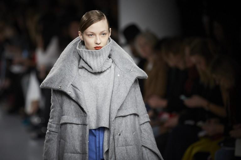 Eudon Choi Catwalk London Fashion Week | © BFC