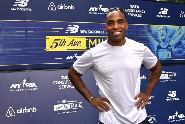 Tiki Barber has run the New York City Marathon three times | © NYRR