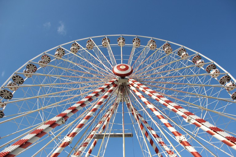 Ferris wheel 24 Hours of Le Mans, 2014 │© Emmanuel Eragne / Flickr