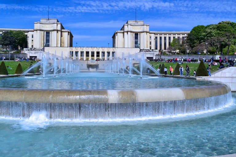 Fountains at the Trocadéro │© Juan Enrique Gilardi / Flickr