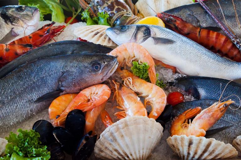 Fresh seafood | © Petr Kratochvil/Public Domain Pictures