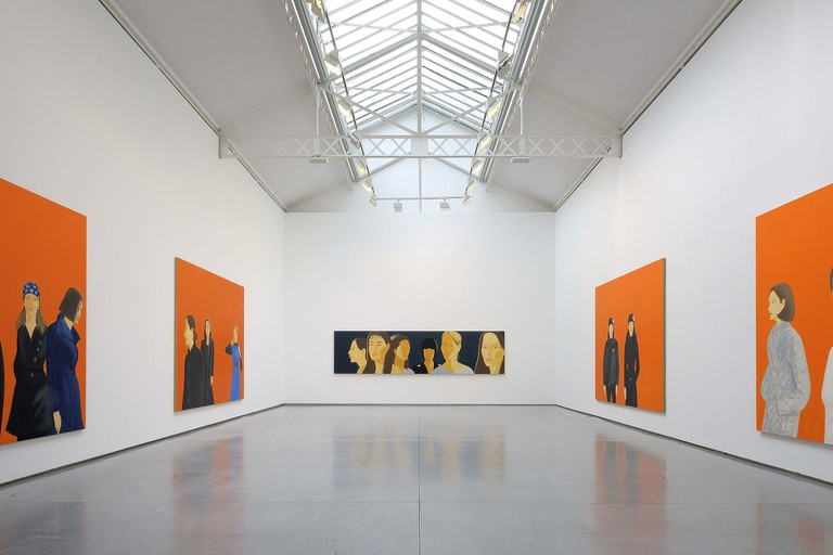 Galerie Thaddaeus Ropac │© Alex Katz / WikiCommons