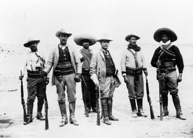 Not all Mexican men look like those who took part in the Revolution | © Public Domain