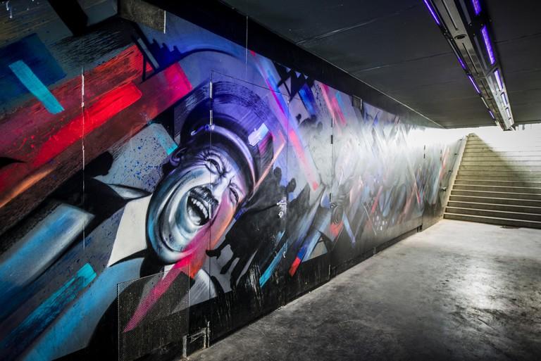 Ghent grafitti | courtesy of Visit Ghent