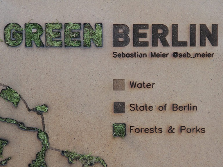 Meier has created an open source guide for Green Berlin | © Sebastian Meier
