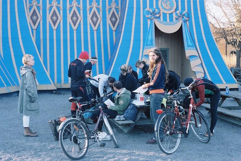Cycle to Hagaparken's Copper Tent | ©oskar karlin/Flickr