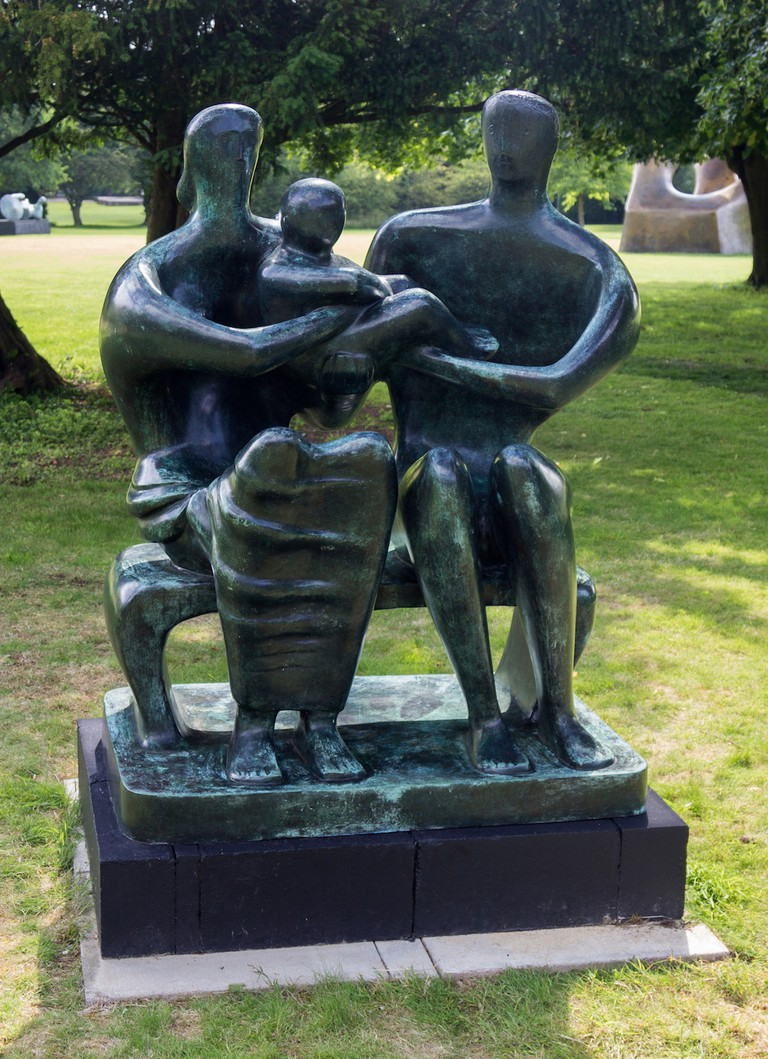Henry Moore, Family Group, 1948-49 | Photo: Jonty Wilde