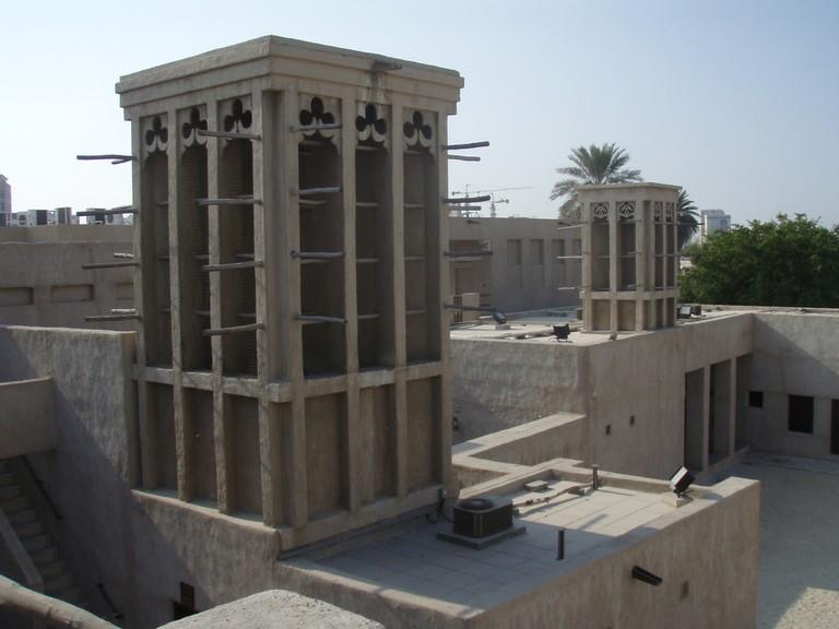 HRH Saeed Al Maktoum's House | ©Hiroo / Wikimedia https://commons.wikimedia.org/wiki/File:Saeed_Al_Maktoum_House.jpg