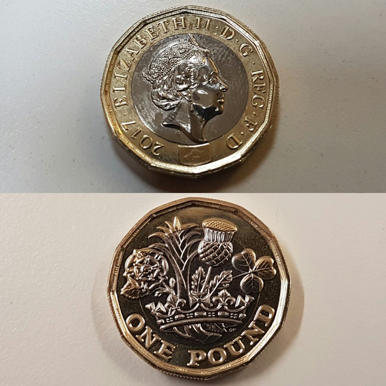 The new £1 coin | © culturetrip