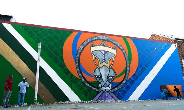 Johanbesburg Mural | Courtesy of Wisetwo