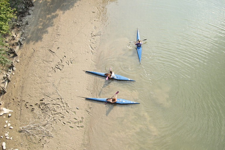 Kayaking in Hungary