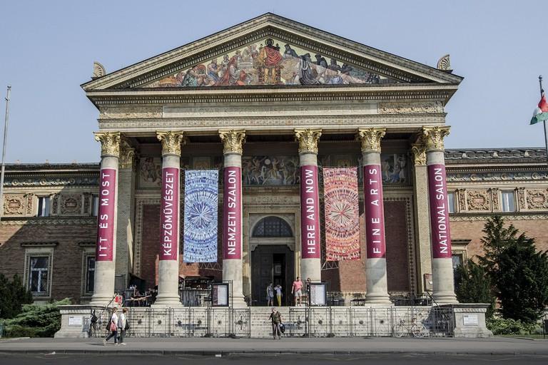 Budapest Hall of Art facade