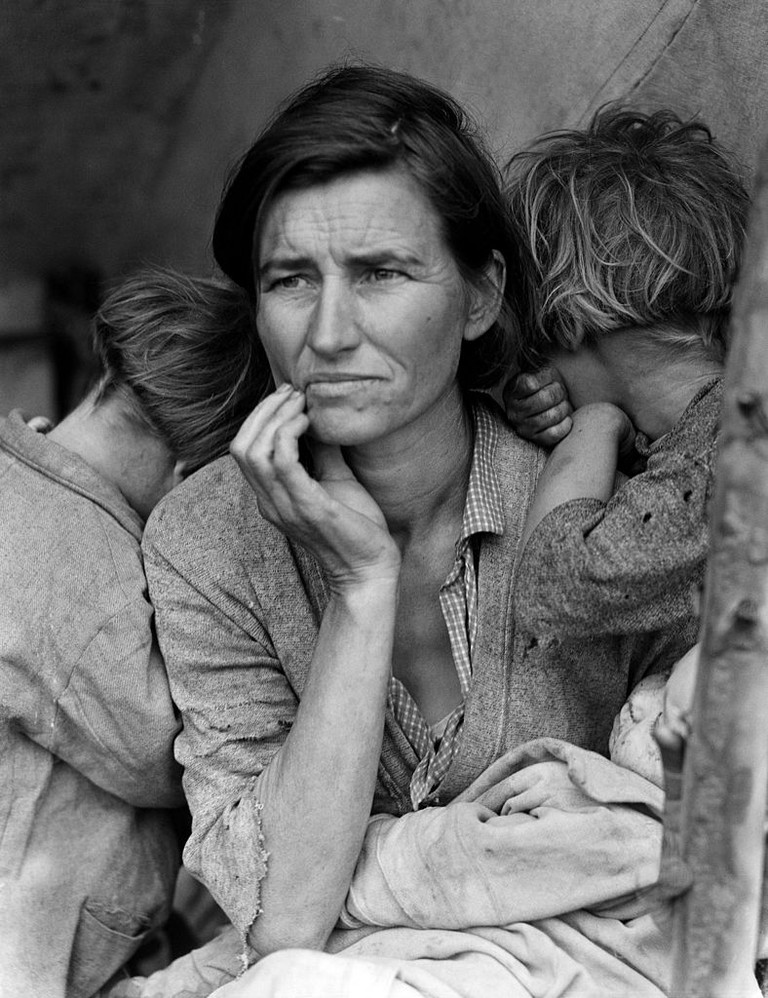 Dorothea Lange, Migrant Mother (1936). Courtesy of Creative Commons