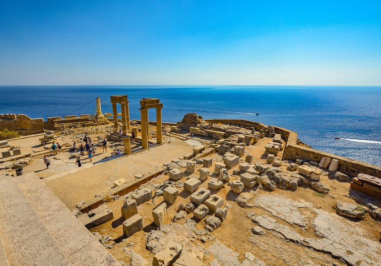 Acropolis of Lindos, Rhodes | © PixaBay
