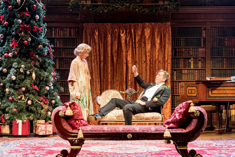 Lisa Dillon and Edward Bennett in RSC and CFTs Much Ado About Nothing | © Manuel Harlan / RSC / Courtesy of Cornershop PR