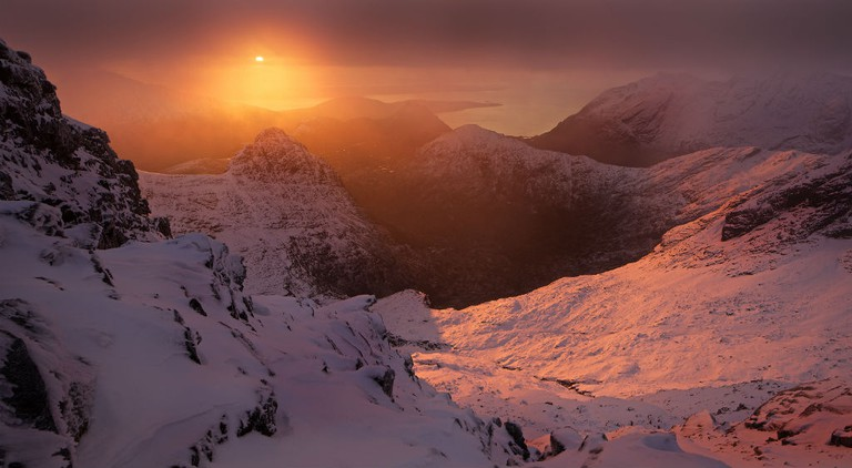 View From The Cuillin Ridge On Skye | Courtesy Of Marcus McAdam Photography