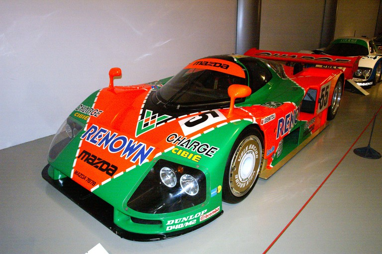 Mazda 787B at Le Musee des 24 Heures, (Winner Le Mans 24 Hours 1991, only Japanese manufactured car and only rotary engine car to win Le Mans │© David Merrett / Flickr