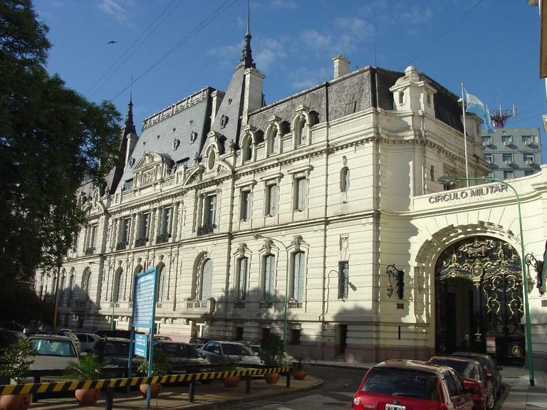 Military Library in Plaza San Martin / Urgente24