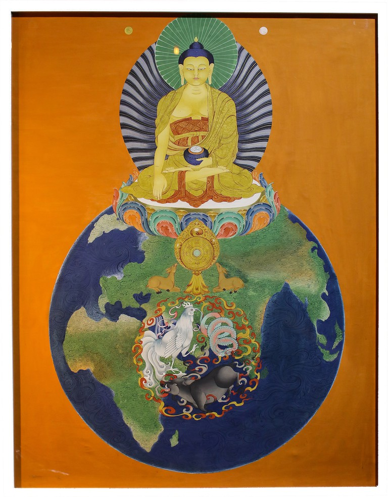 Gyempo Wangchuk, Mind Poisons (2014)