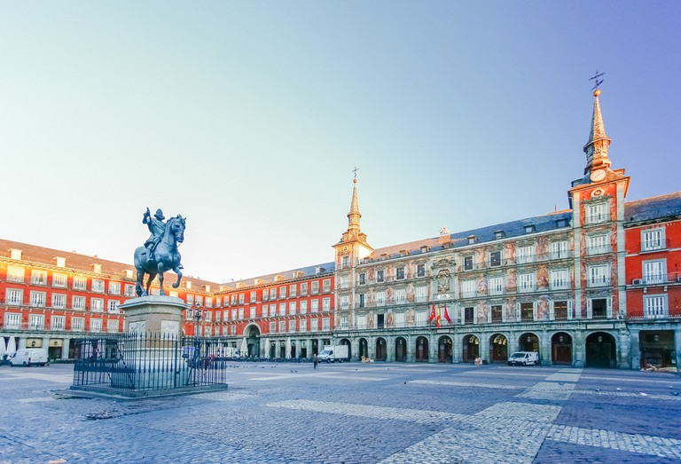 Morning Light at Plaza Mayor in Madrid | © Farbregas Hareluya/Shutterstock