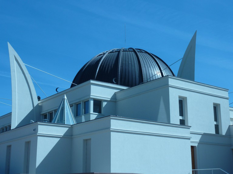 Mosque Strasbourg Angle photo by Stephane333 via Flickr