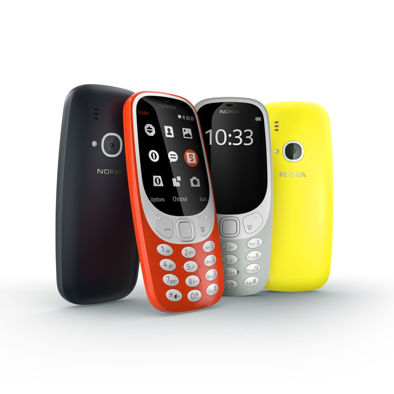 The Nokia 3310 range. | Courtesy hmd.