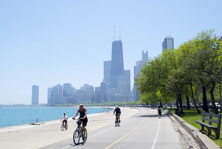Chicago Lakefront Trail | Courtesy of Liz Behler
