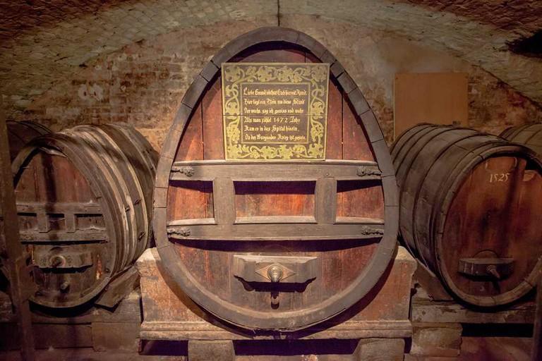 Oldest Wine in the Cellar of the Hospice in Strasbourg ©Philippe de Rexel/OT Strasbourg