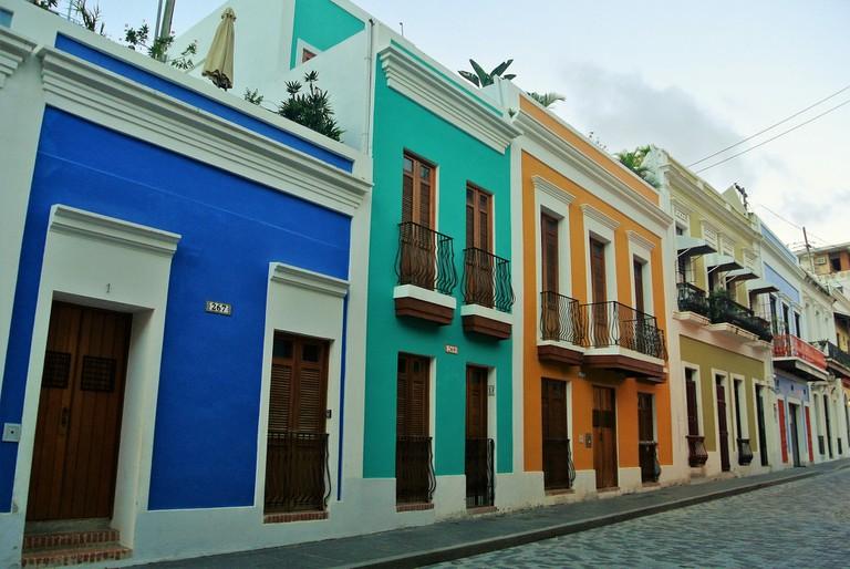 Old San Juan street | © due_mele/ Flickr
