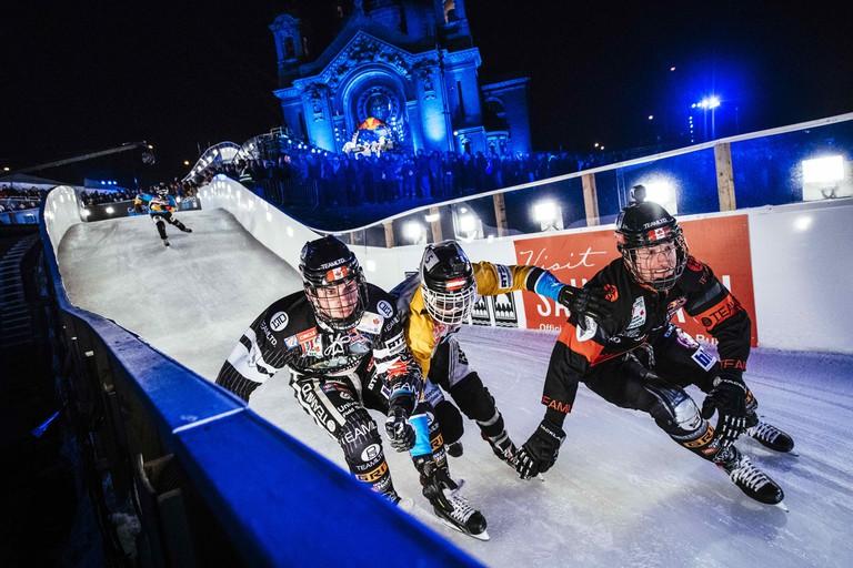 Scott Croxall, Kyle Croxall, Marco Dallago and Luca Dallago compete | © Red Bull Content Pool