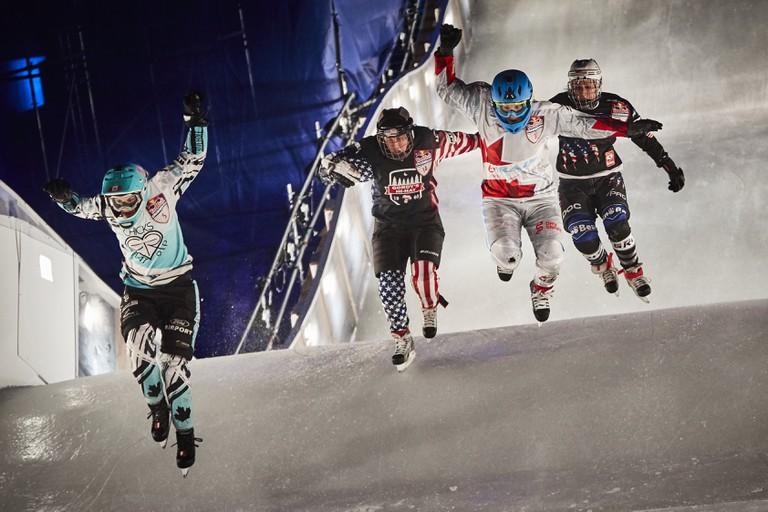 Myriam Trepanier, Amanda Trunzo, Tamara Kajah and Sadie Lundquist in the women's final | © Red Bull Content Pool