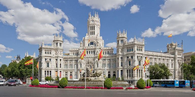 The Palacio de Cibeles | © Madrid Destino Cultura Turismo y Negocio