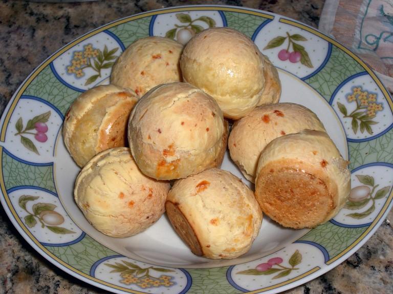 Pão de Queijo © Samory Santos Wikimedia CC
