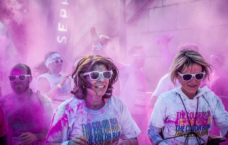 Paris Color Run │© bobostudio / Flickr