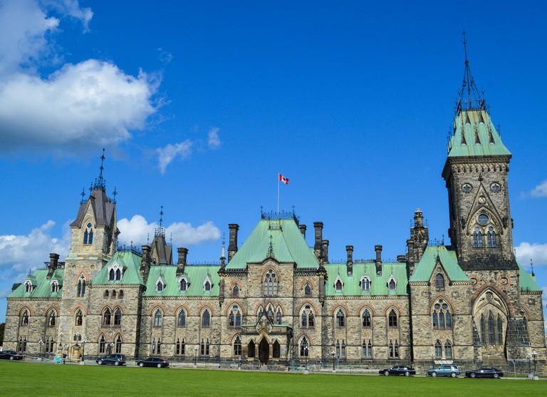 Parliament Hill in Ottawa | © Hayley Simpson