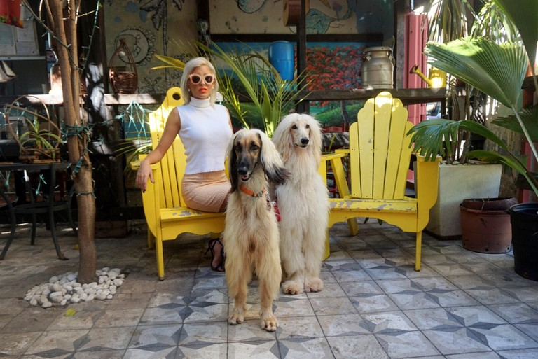 Natalia of Miss Gala and dogs | Courtesy of Miss Gala