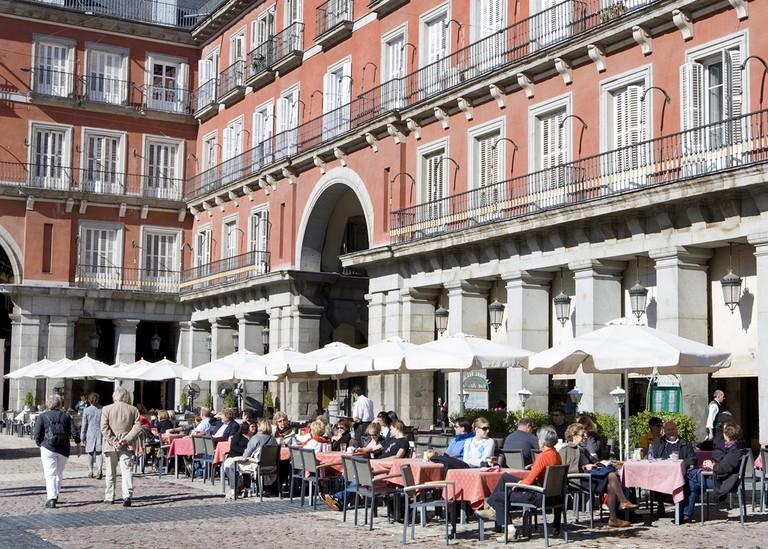 Soak up some sun | © Madrid Destino Cultura Turismo y Negocio