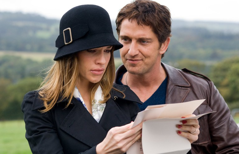 Hilary Swank and Gerard Butler in 'P.S. I Love You' | Courtesy of Momentum Pictures